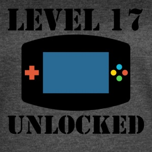 Level 17 Unlocked Video Games 17th Birthday - Women's Vintage Sport T-Shirt
