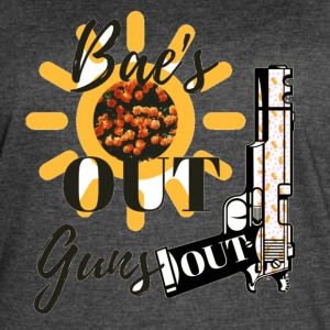 Bae's Out, Gun's Out! - Women's Vintage Sport T-Shirt