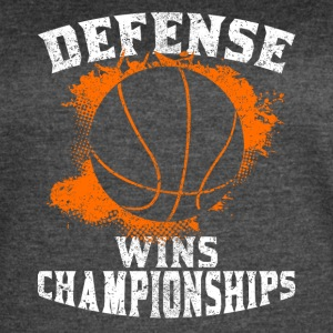 Defense Wins Championships - Women's Vintage Sport T-Shirt