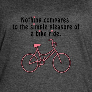 Bike Lover T-Shirt Design For Girls - Women's Vintage Sport T-Shirt