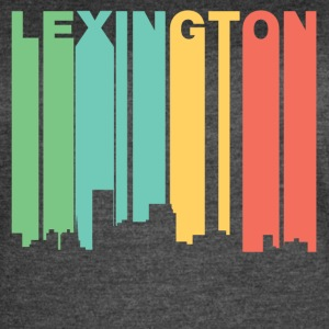 Retro 1970's Style Lexington Kentucky Skyline - Women's Vintage Sport T-Shirt