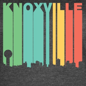 Retro 1970's Style Knoxville Tennessee Skyline - Women's Vintage Sport T-Shirt