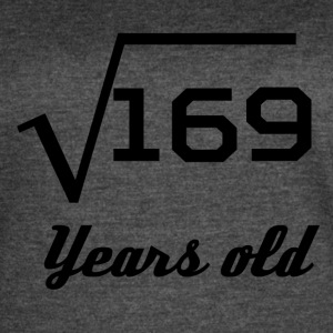 Square Root Of 169 13 Years Old - Women's Vintage Sport T-Shirt