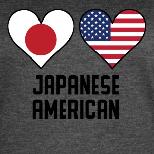 Japanese American Heart Flags - Women's Vintage Sport T-Shirt