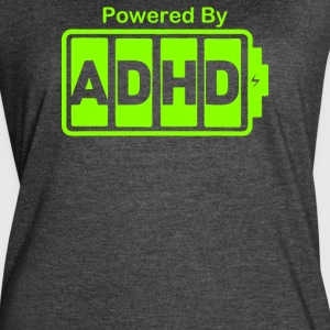 Battery Powered ADHD Energy - Women's Vintage Sport T-Shirt