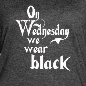 On Wednesdays We Wear Black - Women's Vintage Sport T-Shirt