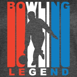 Red White And Blue Bowling Legend - Women's Vintage Sport T-Shirt