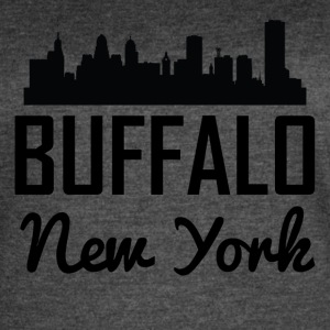 Buffalo New York Skyline - Women's Vintage Sport T-Shirt