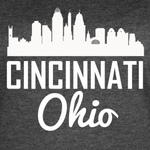 Cincinnati Ohio Skyline - Women's Vintage Sport T-Shirt