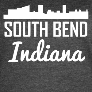 South Bend Indiana Skyline - Women's Vintage Sport T-Shirt