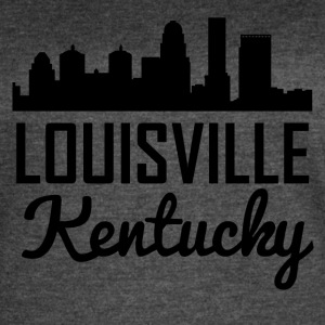 Louisville Kentucky Skyline - Women's Vintage Sport T-Shirt