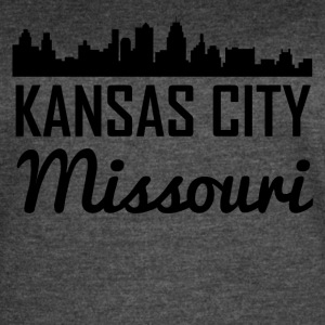Kansas City Missouri Skyline - Women's Vintage Sport T-Shirt
