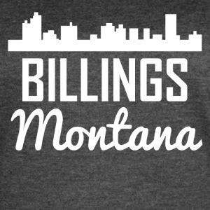 Billings Montana Skyline - Women's Vintage Sport T-Shirt
