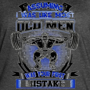 old man was your first mistake - Women's Vintage Sport T-Shirt