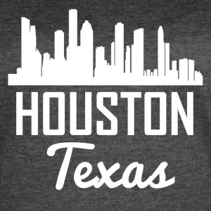 Houston Texas Skyline - Women's Vintage Sport T-Shirt
