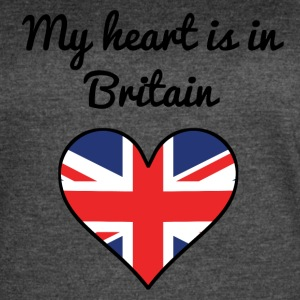 My Heart Is In Britain - Women's Vintage Sport T-Shirt