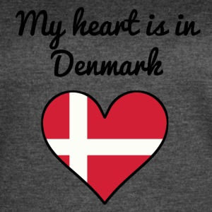 My Heart Is In Denmark - Women's Vintage Sport T-Shirt