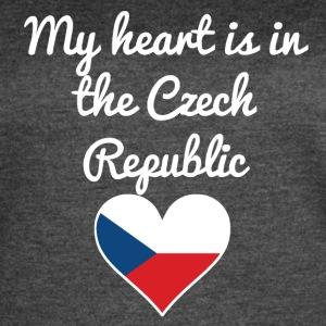 My Heart Is In the Czech Republic - Women's Vintage Sport T-Shirt