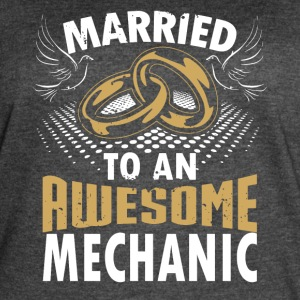 Married To An Awesome Mechanic - Women's Vintage Sport T-Shirt