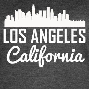 Los Angeles California Skyline - Women's Vintage Sport T-Shirt