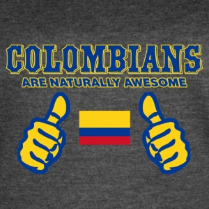 COLOMBIAN DESIGN - Women's Vintage Sport T-Shirt