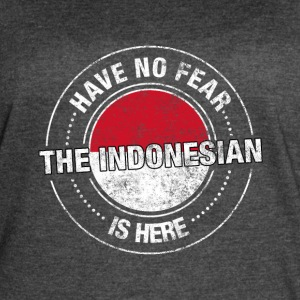 Have No Fear The Indonesian Is Here - Women's Vintage Sport T-Shirt