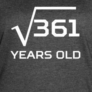 Square Root 361 Funny 19 Years Old 19th Birthday - Women's Vintage Sport T-Shirt