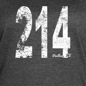Vintage Dallas Area Code 214 - Women's Vintage Sport T-Shirt