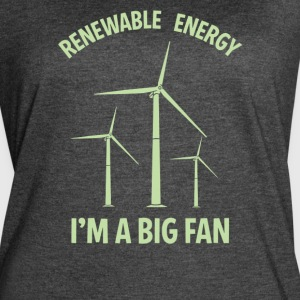Renewable energy I'm A Big Fan - Women's Vintage Sport T-Shirt