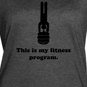 Strong Fitness Program - Women's Vintage Sport T-Shirt
