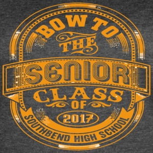 Bow To The Senior Class of 2017 Southbend High Sch - Women's Vintage Sport T-Shirt