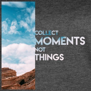 Moments Not Things - Women's Vintage Sport T-Shirt