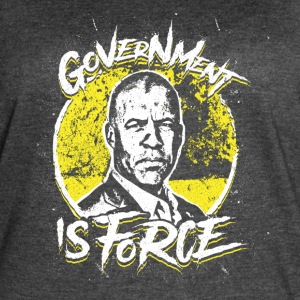 Larry Sharpe - Libertarian - Government is Force - Women's Vintage Sport T-Shirt