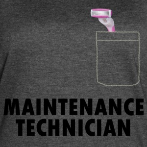 Pussy Maintenance Technician - Women's Vintage Sport T-Shirt