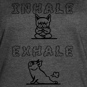 Inhale Exhale - Women's Vintage Sport T-Shirt