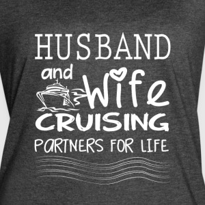 Husband And Wife Cruising Partners For Life TShirt - Women's Vintage Sport T-Shirt