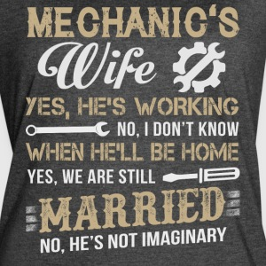 Mechanic's Wife T Shirt - Women's Vintage Sport T-Shirt