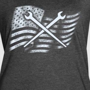 Mechanic T Shirt - Women's Vintage Sport T-Shirt