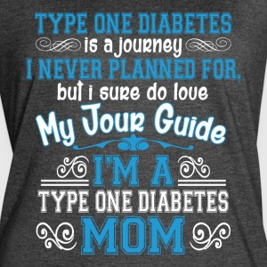 I'm A Type One Diabetes Mom T Shirt - Women's Vintage Sport T-Shirt