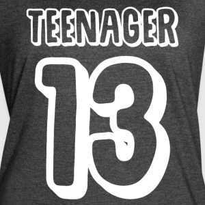 teenager 13 - Women's Vintage Sport T-Shirt