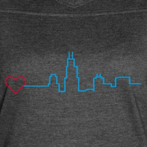 Heart for Chicago - Women's Vintage Sport T-Shirt