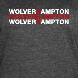 Wolverhampton United Kingdom Flag Shirt - Wolverha - Women's Vintage Sport T-Shirt