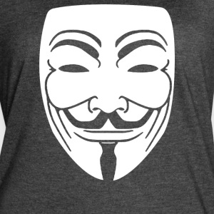 Anonymous Mask - Women's Vintage Sport T-Shirt