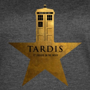TARDIS - It's Bigger on the Inside - Women's Vintage Sport T-Shirt