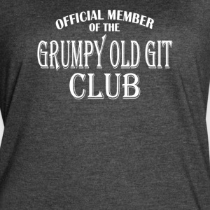 Grumpy Old Git Club - Women's Vintage Sport T-Shirt