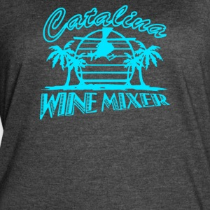 CATALINA WINE MIXER - Women's Vintage Sport T-Shirt