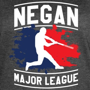 Negan Major League T Shirt - Women's Vintage Sport T-Shirt
