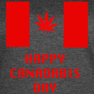 Happy Canadabis Day - Women's Vintage Sport T-Shirt