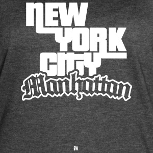 NYC: Manhattan - Women's Vintage Sport T-Shirt