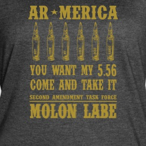 AR-America. You want my 5.56. Come and Take It - Women's Vintage Sport T-Shirt
